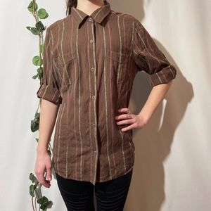 The North Face Snap Button Down Western Blouse